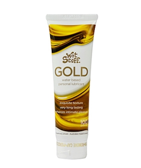 Wet Stuff Gold Waterbased Lubricant 100g