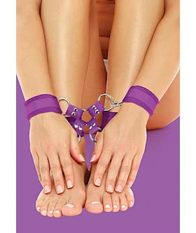 Velcro Hand And Leg Cuffs  Purple