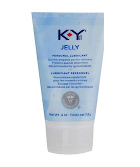 KY Jelly 4 oz Tube