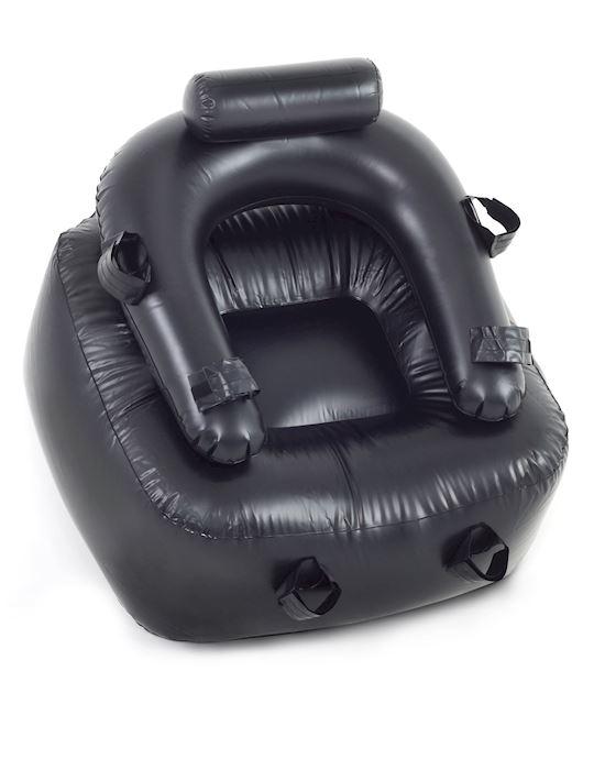 Fetish Fantasy Bondage Chair Black - Adulttoymegastore Australia-8150