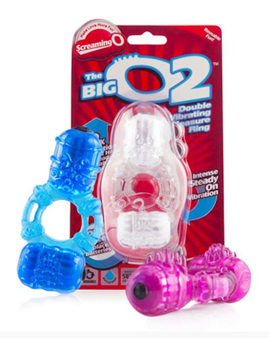 Big O 2 Double Vibrating Ring By Screaming O