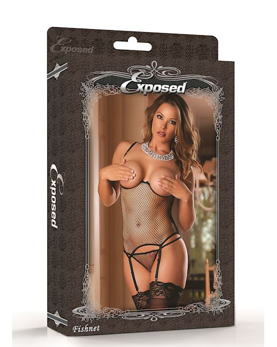 Cupless Merry Widow And Gstring