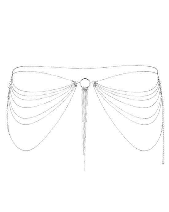 Bijoux Indiscrets - Magnifique Waist Jewelry Silver