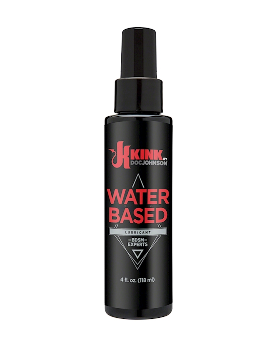 Water Based Lubricant - 4oz