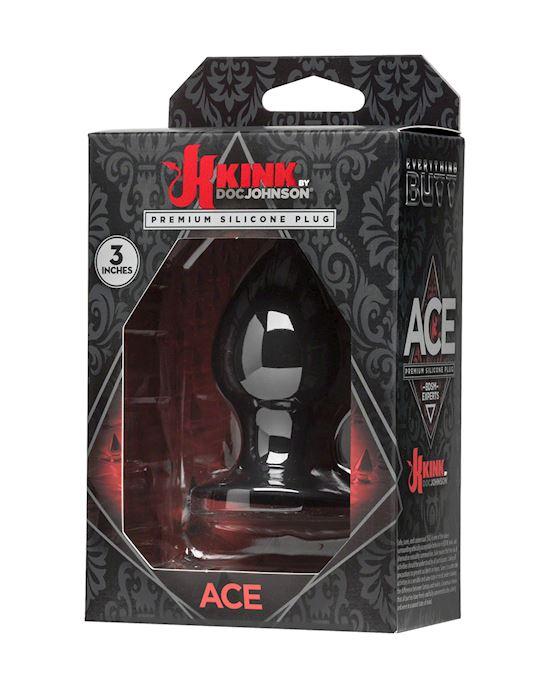 Ace - Premium Silicone Plug - 3inch