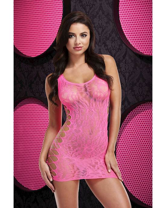 Adult Toy Megastore Leopard Lace Mini Dress | Beanstalk Mums