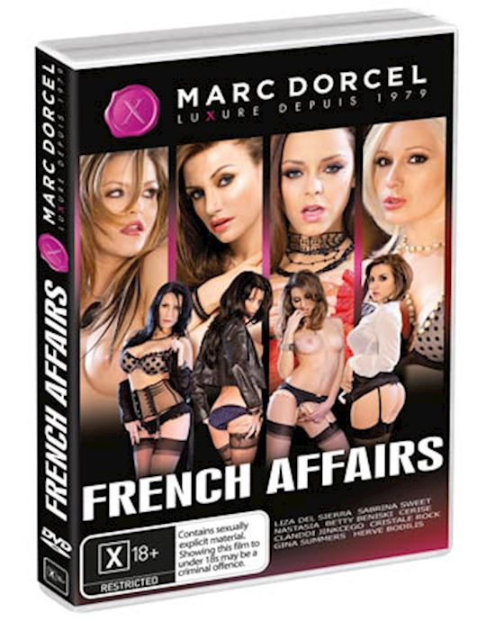 French Affairs (8 Francaises) - Dvd